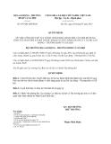Quyết định 697/QĐ-LĐTBXH năm 2013