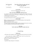 Quyết định 894/QĐ-CTN năm 2013