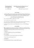 Quyết định 3380/QĐ-UBND năm 2013