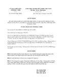 Quyết định 195/2013/QĐ-UBND