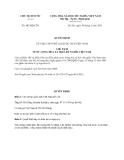 Quyết định 902/QĐ-CTN năm 2013