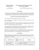 Quyết định 744/QĐ-UBND năm 2013