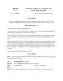 Quyết định 1705/QĐ-BYT năm 2013