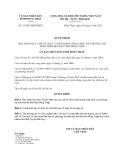 Quyết định 13/2013/QĐ-UBND 2013