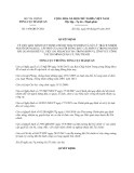 Quyết định 1458/QĐ-TCHQ năm 2013