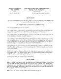 Quyết định 647/QĐ-BTNMT năm 2013