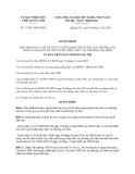 Quyết định 11/2013/QĐ-UBND về Quy chế tổ chức tuyển dụng công chức