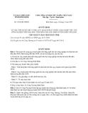 Quyết định 1265/QĐ-UBND