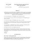 Thông tư 73/2013/TT-BTC hướng dẫn về niêm yết chứng khoán tại Nghị định 58/2012/NĐ-CP