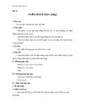 Giáo án Sinh học 11 bài 19: Tuần hoàn máu (tiếp theo)