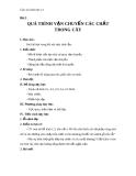 Giáo án Sinh học 11 bài 2: Vận chuyển các chất trong cây