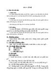 Giáo án GDCD 6 bài 4: Lễ độ