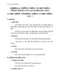 Giáo án bài Đại cương về đường thẳng và mặt phẳng - Hình học 11 - GV. Trần Thiên
