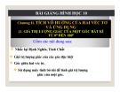 Bài giảng Giá trị lượng giác của góc bất kì từ 0 - 180 - Hình học 10 - GV. Trần Thiên