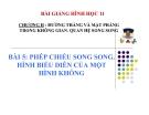 Bài giảng Phép chiếu song song. Hình không gian - Hình học 11 - GV. Trần Thiên