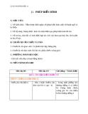 Giáo án bài Phép biến hình - Hình học 11 - GV. Trần Thiên