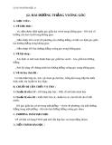 Giáo án bài Hai đường thẳng vuông góc - Hình học 11 - GV. Trần Thiên
