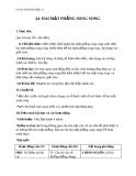 Giáo án bài Hai mặt phẳng vuông góc - Hình học 11 - GV. Trần Thiên