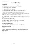 Giáo án bài Khoảng cách - Hình học 11 - GV. Trần Thiên