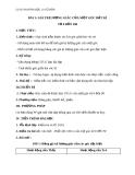 Giáo án bài Giá trị lượng giác của góc bất kì từ 0 - 180 - Hình học 10 - GV. Trần Thiên