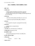 Giáo án bài Phương trình đường tròn - Hình học 10 - GV. Trần Thiên