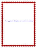 SKKN: Phương pháp rèn kĩ năng làm văn tả cảnh cho học sinh lớp 6