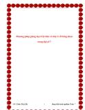 SKKN: Phương pháp giảng dạy tỉ lệ thức và dãy tỉ số bằng nhau trong Đại số 7