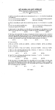 Đề thi môn Xác suất thống kê (không sử dụng tài liệu, chỉ được sử dụng các bảng số)