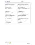 Tiếng Anh giao tiếp cơ bản - Unit 3