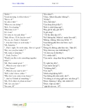 Tiếng Anh giao tiếp cơ bản - Unit 13