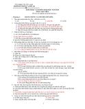 60 câu trắc nghiệm luyện thi Đại học môn Sinh 2014 - Phần tiến hóa