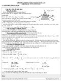 Kiến thức trọng tâm Vật lý 12 nâng cao