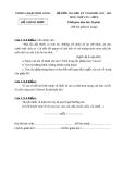 Đề kiểm tra học kì 1 môn Ngữ văn lớp 8 năm 2013-2014 - Phòng GĐT Bình Giang