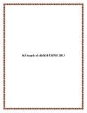 Kế hoạch số 46/KH-UBND 2013