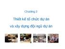 Bài giảng Quản trị dự án: Chương 2 - GV.TS.Hồ Nhật Hưng