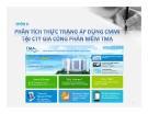 Tiểu luận: Phân tích thực trạng áp dụng CMMI tại Công ty gia công phần mềm TMA