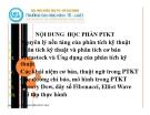 Bài giảng Các đường chỉ báo, mô hình trong phân tích chứng khoán - Nguyễn Ngọc Huy