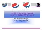 Tiểu luận: Chiến lược kinh doanh của tập đoàn Pepsi-Cola
