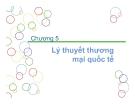 Bài giảng Thương mại quốc tế - Chương 5: Lý thuyết thương mại quốc tế