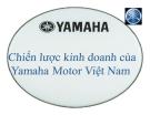 Tiểu luận: Chiến lược kinh doanh của Yamaha Motor Việt Nam