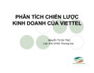Tiểu luận: Phân tích chiến lược kinh doanh của Viettel