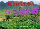 Bài giảng Kể chuyện: Cây cỏ nước Nam - Tiếng việt 5 - GV.N.T.Hồng