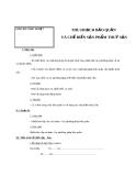 Giáo án Công nghệ 7 bài 55: Thu hoạch, bảo quản và chế biến sản phẩm thủy sản
