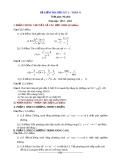 Đề kiểm tra HK2 Toán 11 năm 2012-2013 (kèm đáp án)