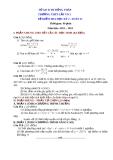 Đề kiểm tra HK2 Toán 11 - THPT Lấp Vò 2 (2012-2013) - Kèm đáp án