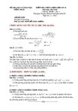 Đề KTCL HK2 Toán 11 - THPT Đỗ Công Tường 2012-2013 (kèm đáp án)