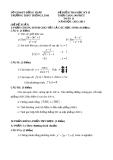 Đề kiểm tra HK2 Toán 11 - THPT Thống Linh 2012-2013 (kèm đáp án)