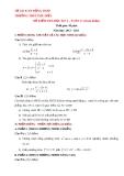 Đề kiểm tra HK2 Toán 11 - THPT Phú Điền 2012-2013 (kèm đáp án)