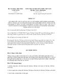 Thông tư số 04/2013/TT-BVHTTDL