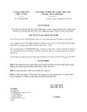 Quyết định 726/QĐ-UBND năm 2013